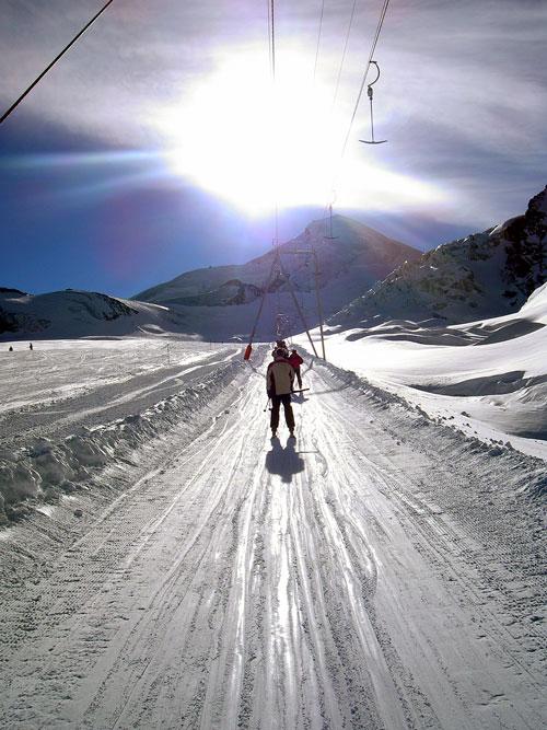 Saas Fee glacier -14C