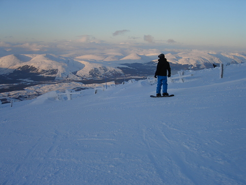 Nevis Range Ski Resort by: simonstephenson65