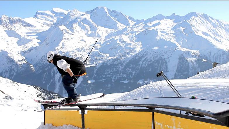 Yan Hardy Verbier snowpark