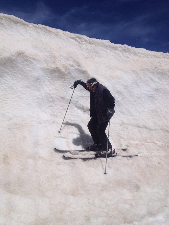 piste ski tochal