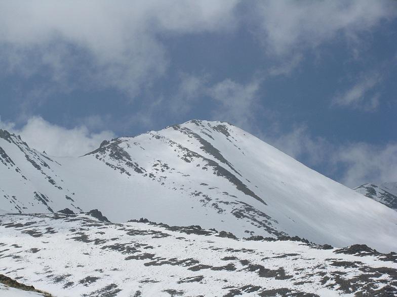 نماي قله خلنو كوچك و بزرگ و تيغه هاي ژاندارك, Tochal