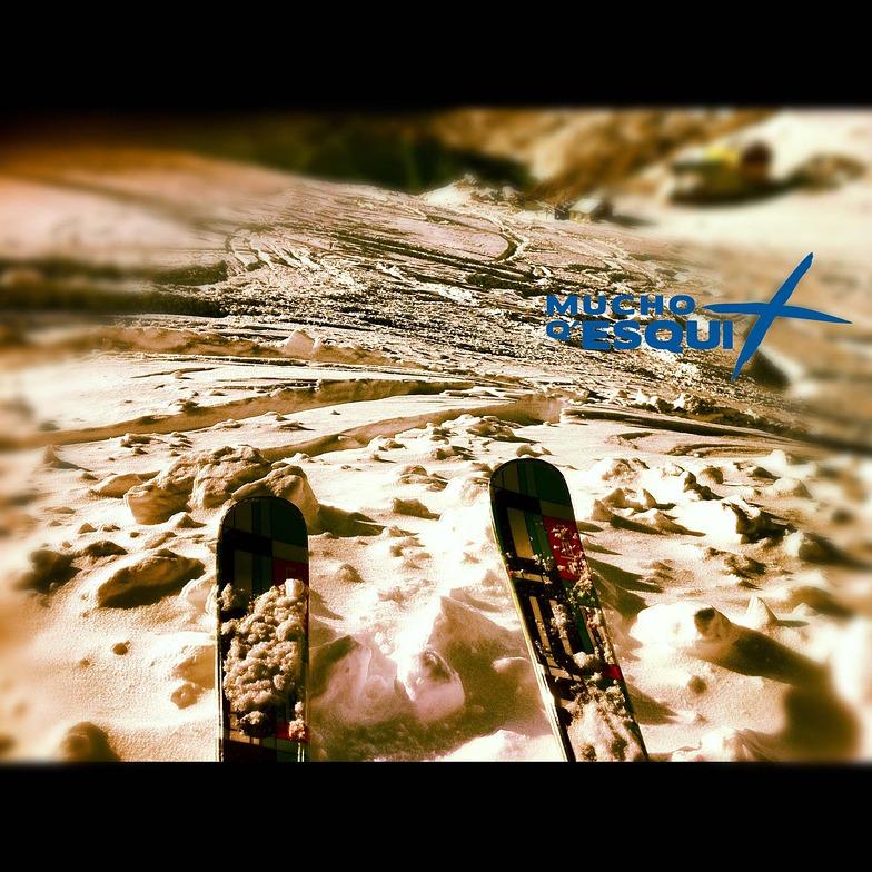 bajada fuera de pista, Cerro Catedral