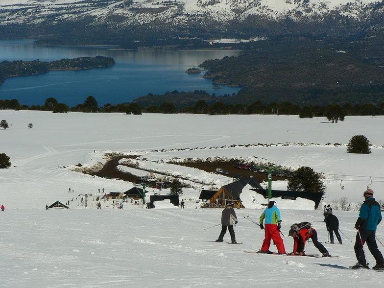 Batea Mahuida snow