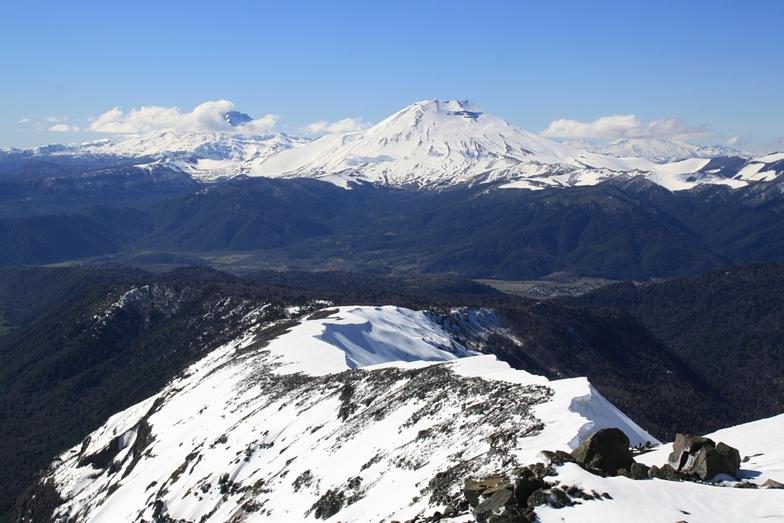 Ski touring with Suizandina Lodge, Corralco (Lonquimay)