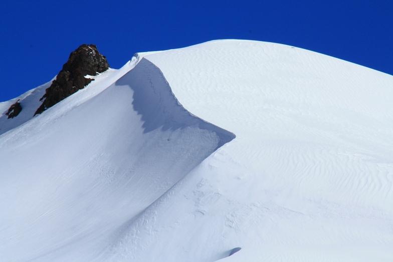 Ski touring en Corniza filo Sierra de las Coloradas, Corralco (Lonquimay)