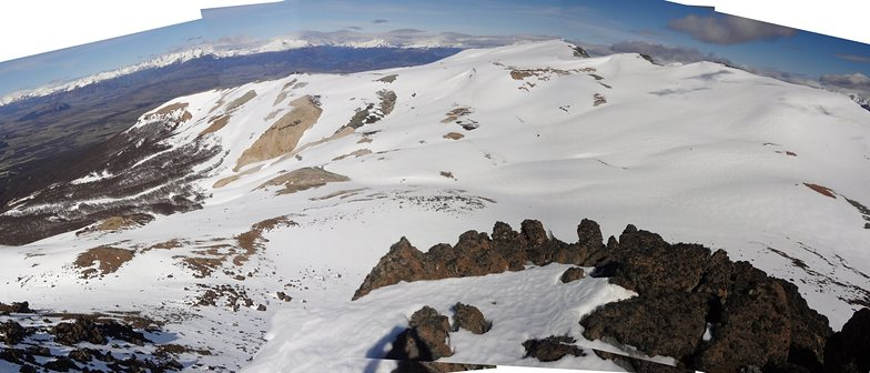 Panoramique haute Fraile, El Fraile