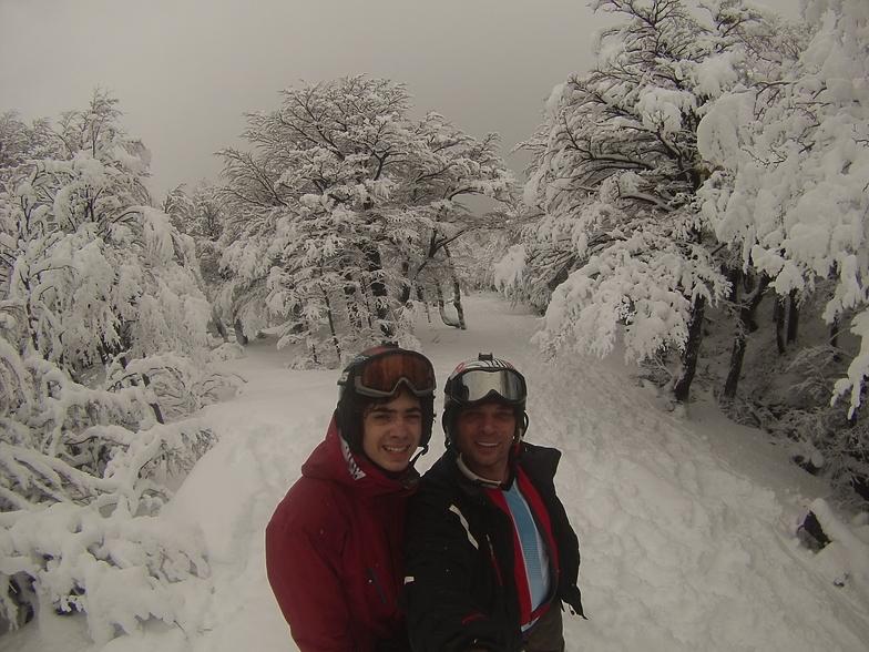 Caminando en Monte Bianco