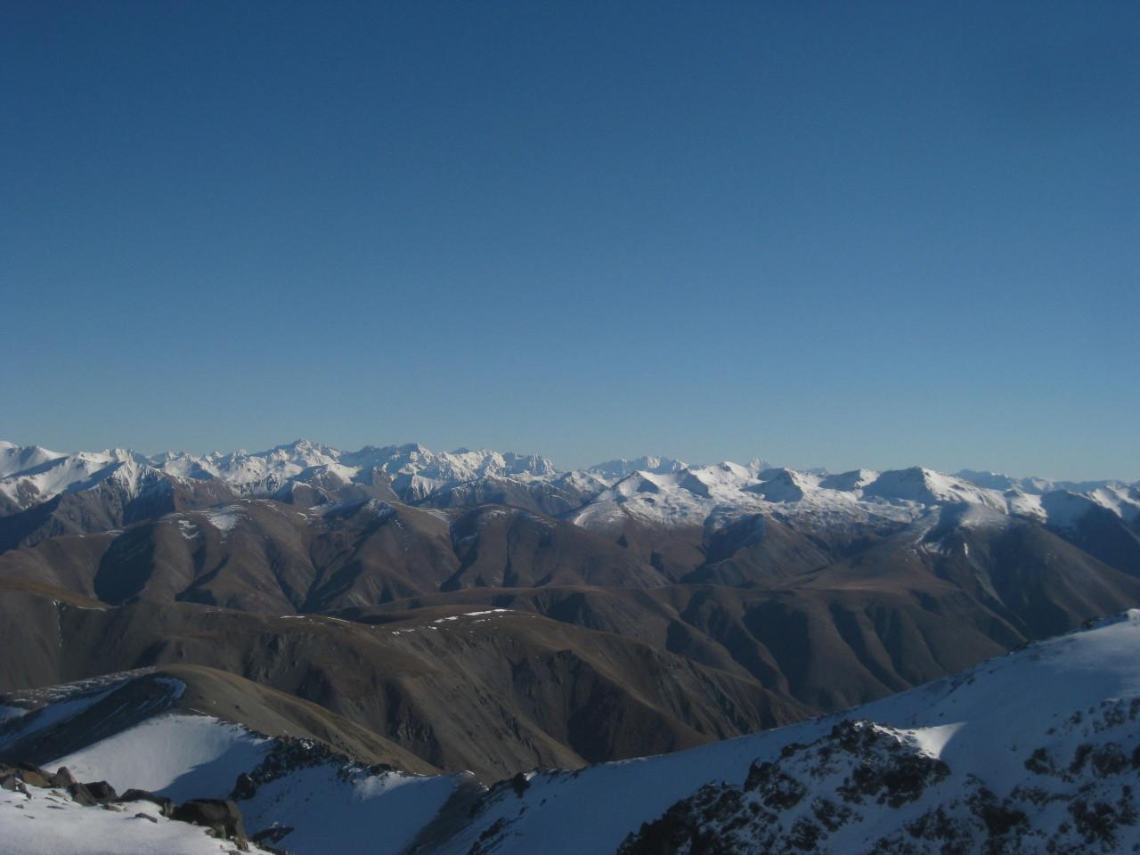 Backcountry, Mt Hutt