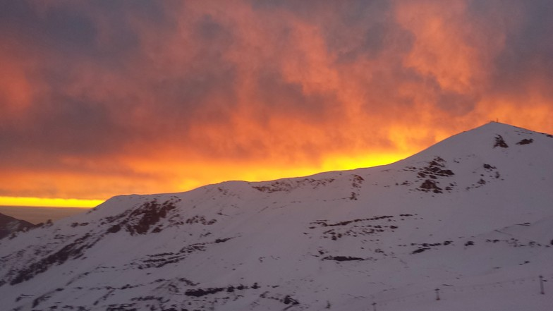 Valle Nevado sunset ... as usual