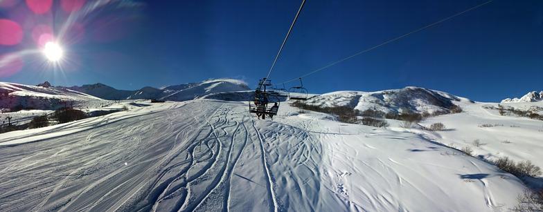 Valmorel snow