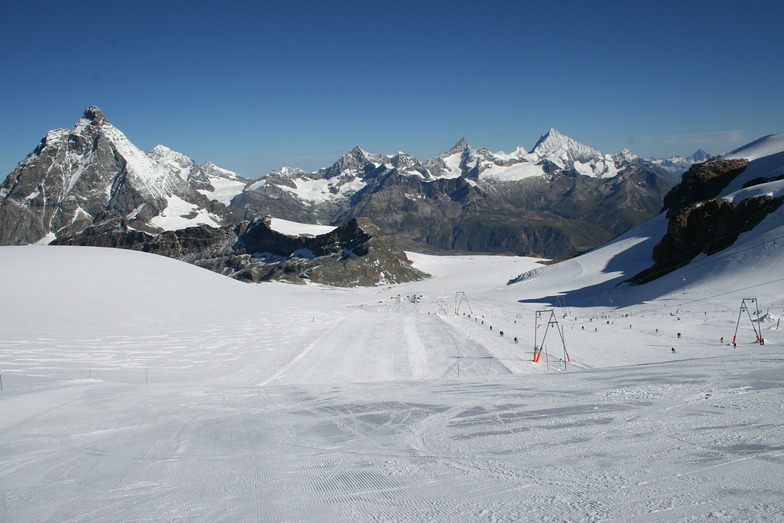Sommerski, Zermatt