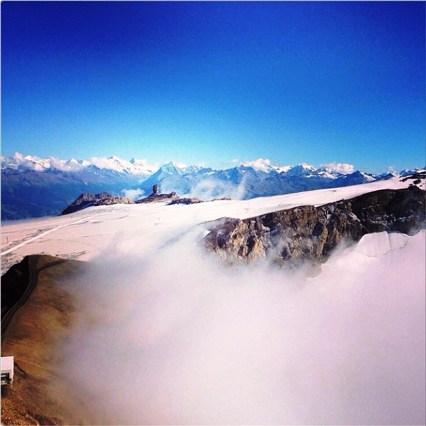Glacer Les Diablerets, Gstaad Glacier 3000