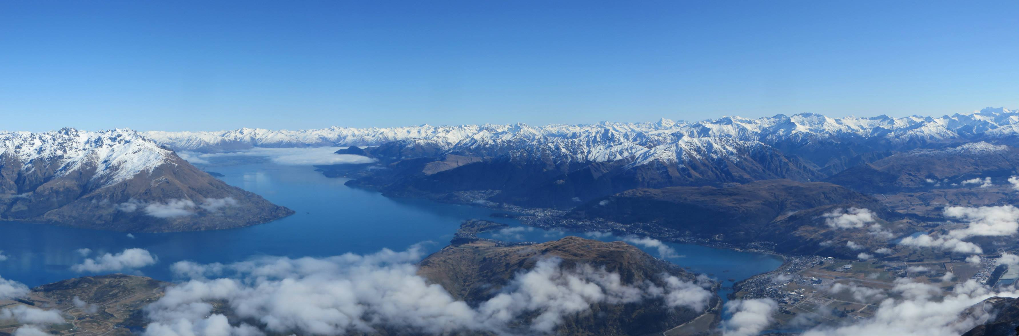 token view point panorama, Remarkables