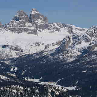 DIstant view of Misurina