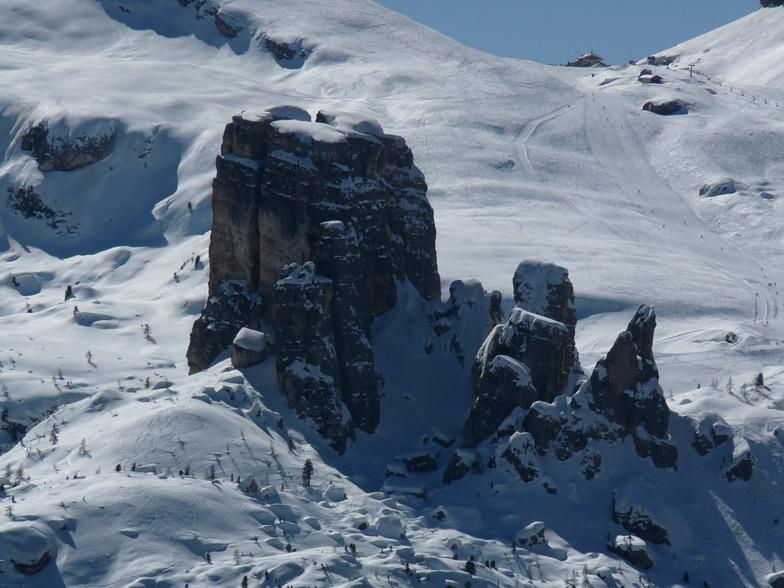 2225m high Cinque Torri, Cortina