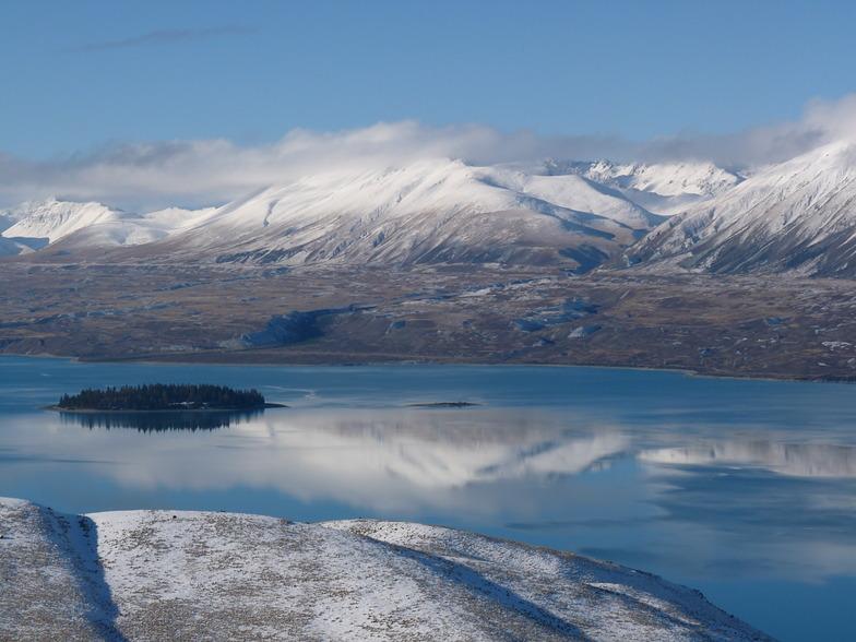 Lake Tekapo, Mount Dobson