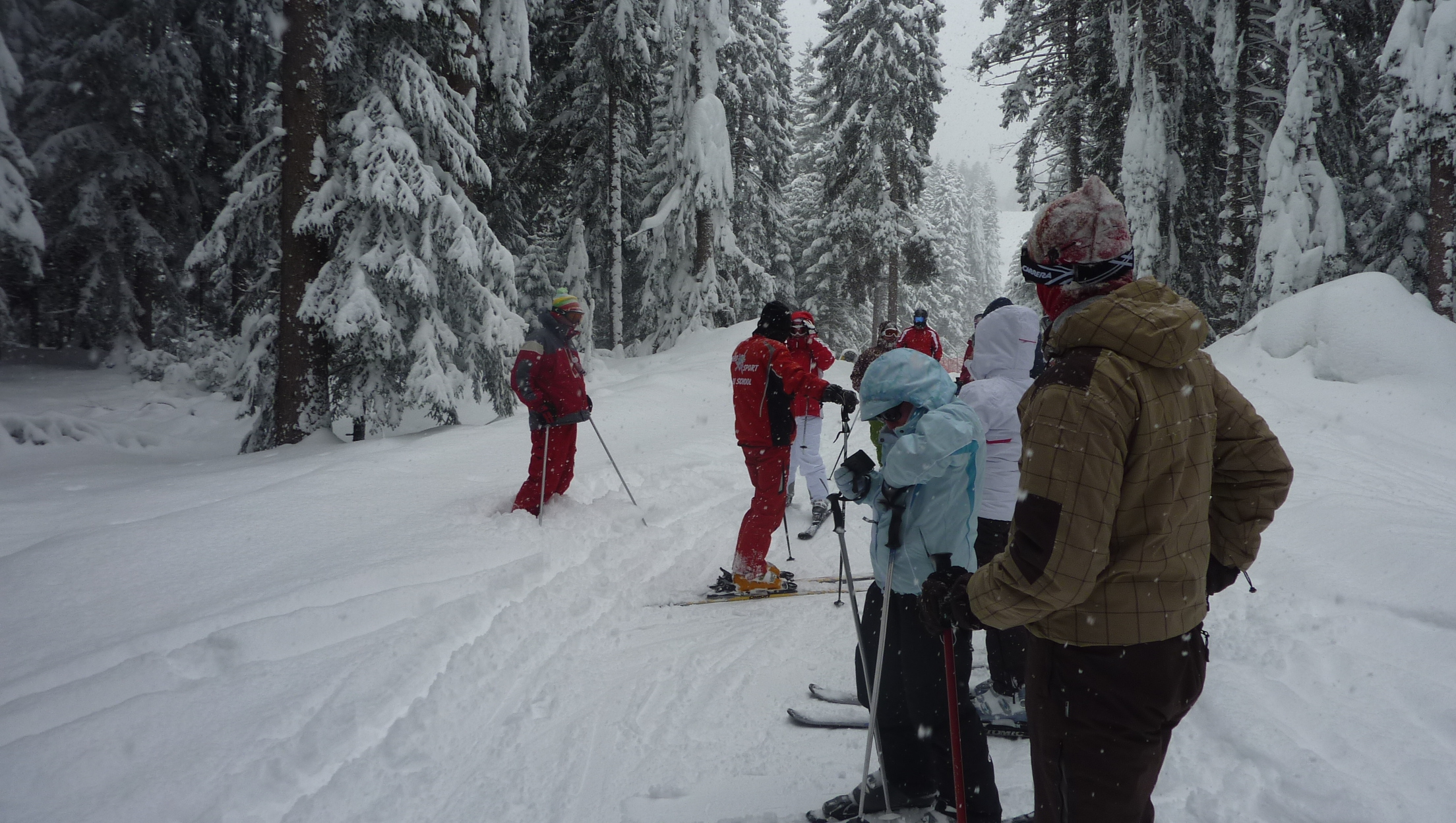 Lots of snow, Borovets