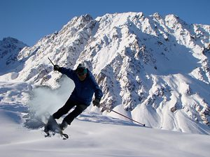 Karakol Mountain Ski Base photo
