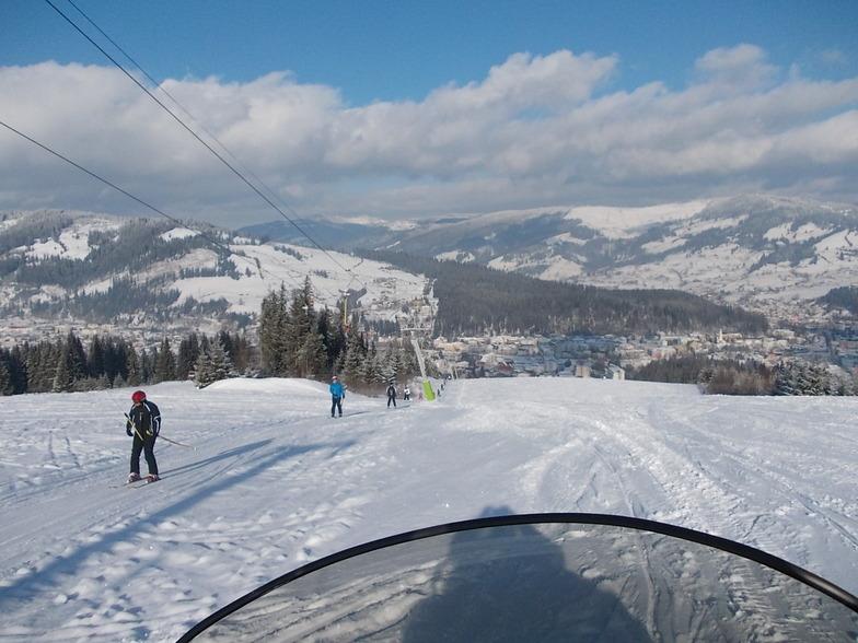 Vatra Dornei snow