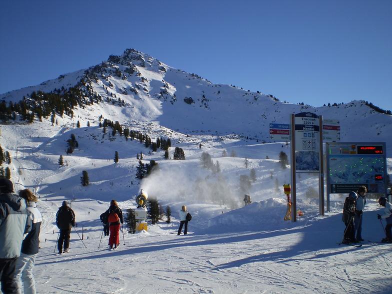 Haute Nendaz snow