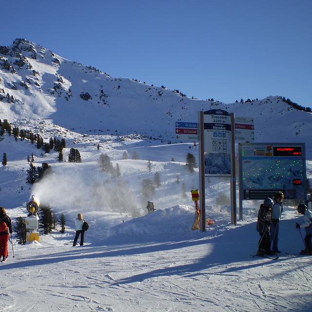 Tracouet 2200 metres, Haute Nendaz