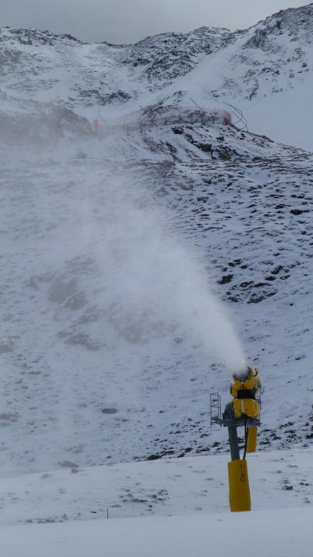 Snow Cannon Mega Verda, Vallnord-Arcalís