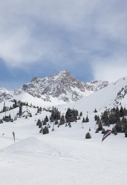 Snow park, Shymbulak