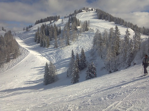 St Johann-Alpendorf Ski Resort by: P. Johnson
