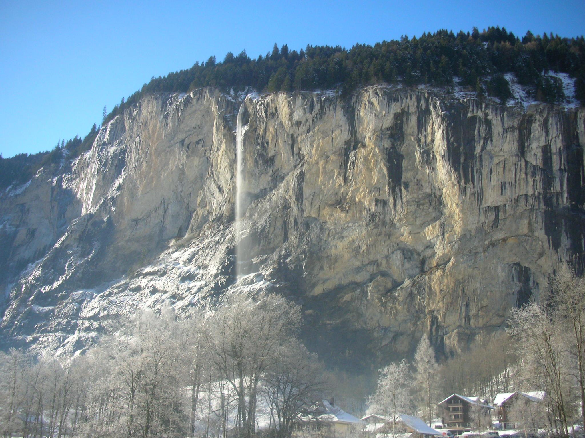 Staubach Falls, Lauterbrunnen