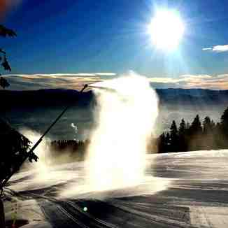 snow making, Martinky