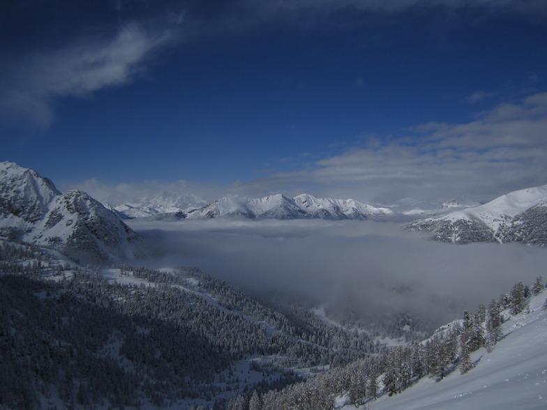 Montgenèvre (Via Lattea) snow