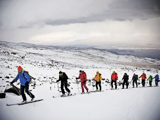 Ski tour on Ararat (by http://www.ararattrip.com/ ), Ağrı Dağı or Mount Ararat