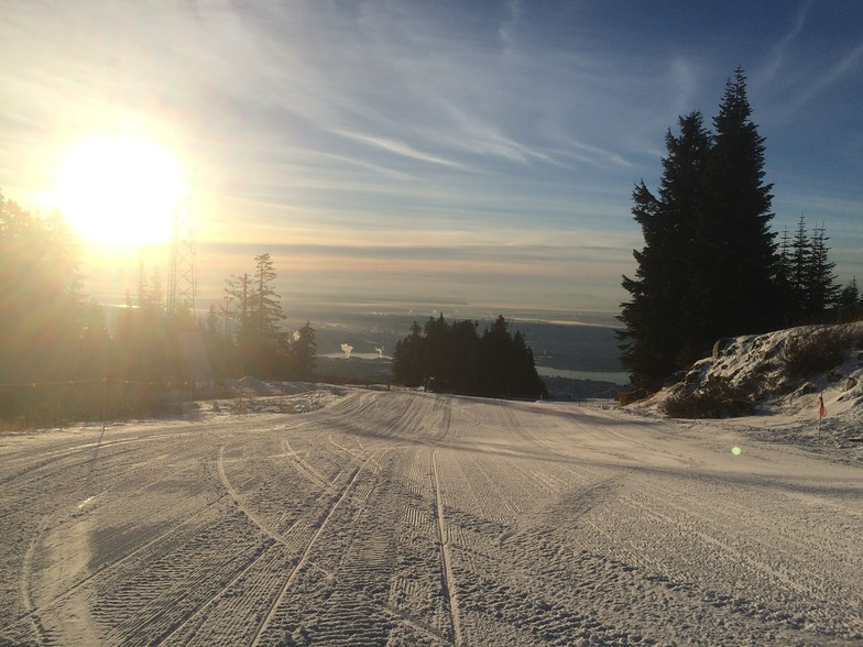 December 3, 2014, Grouse Mountain
