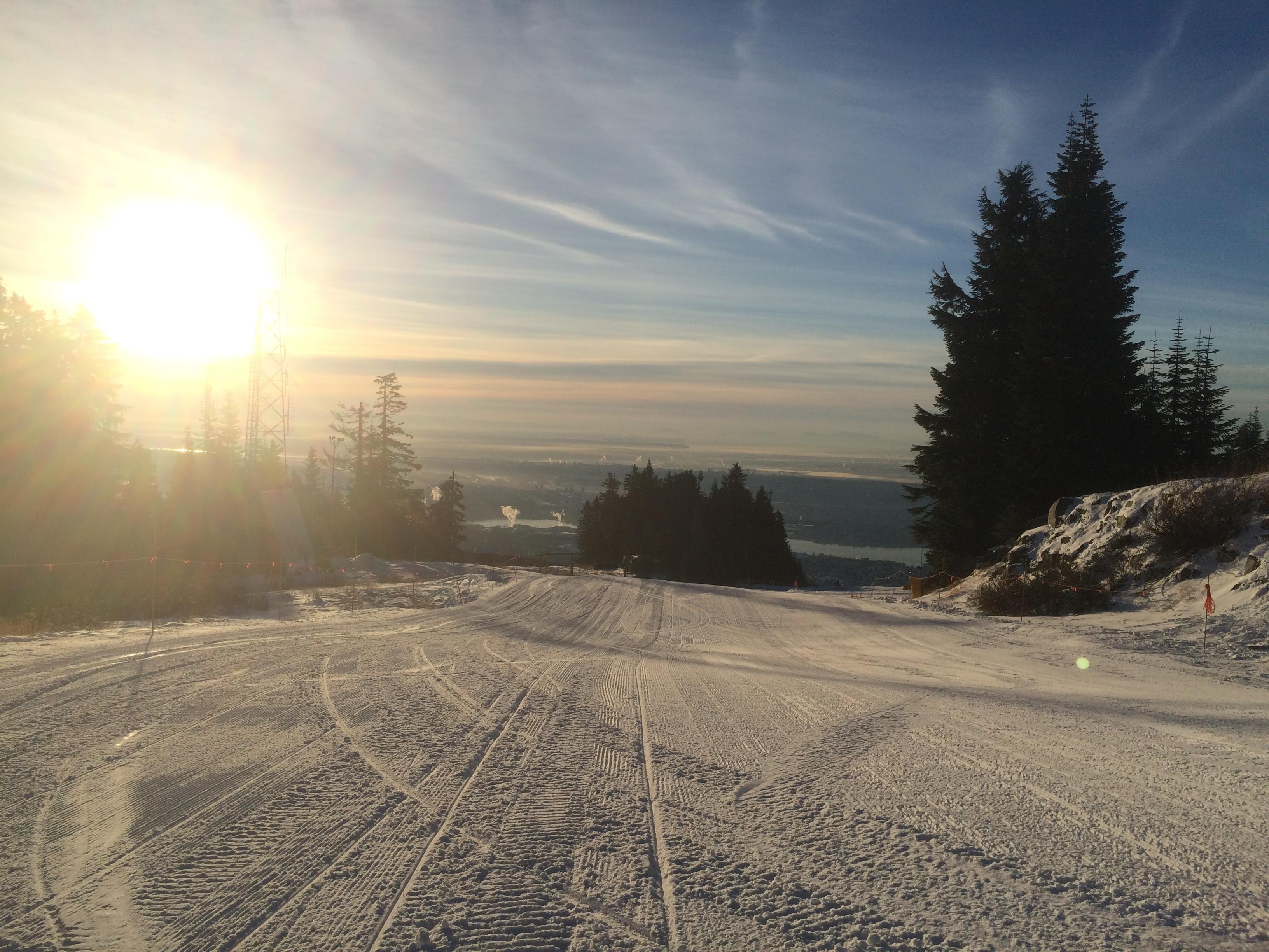 December 3, 2014, Grouse Mountain