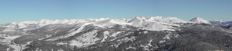 View from Copper Mountain, CO