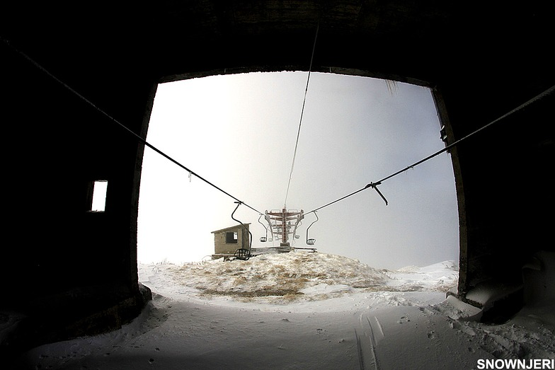 One seated lift, Brezovica