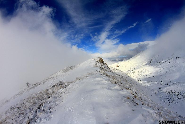 Eagles nest peak, Brezovica