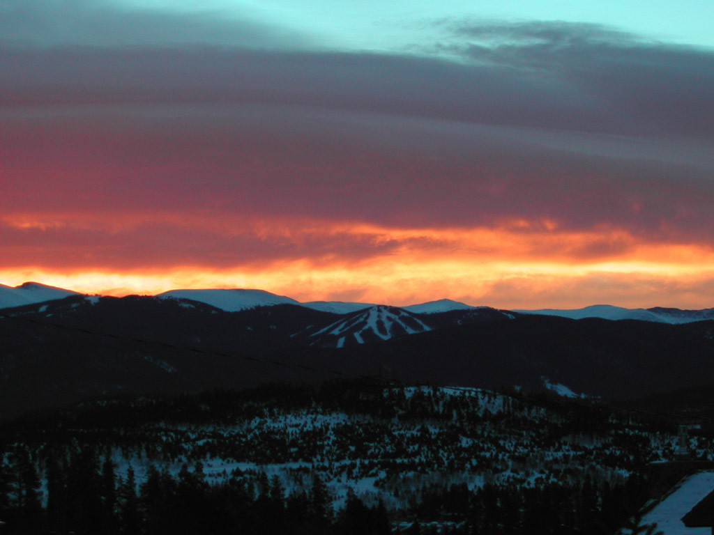 SunRISE above Keystone, Colorado