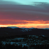 SunRISE above Keystone, Colorado, USA - Colorado