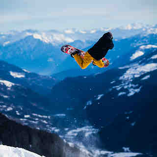 Michi Kessler with a huge Backside Air in Disentis