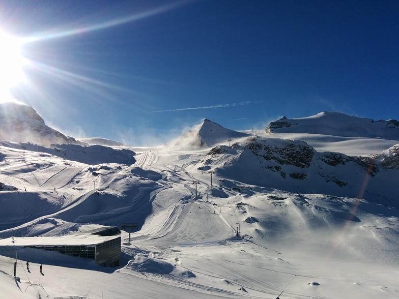 Zermatt looking towards Cervinia.