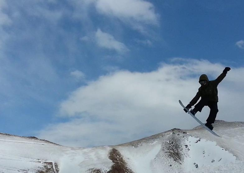 Aliask jumping, Mt Palandöken
