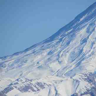 damavand from tochal, Mount Damavand