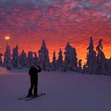 Levi Sunset, Finland