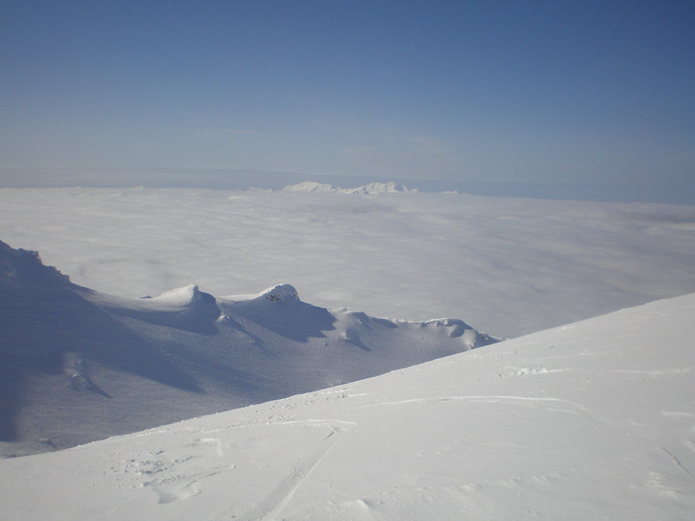 above the clouds, Kalavryta Ski Resort