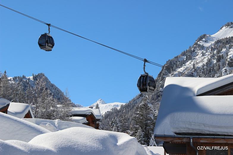 Valfrejus snow