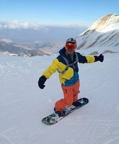 Davraz Ski Resort by: nıke snowboard