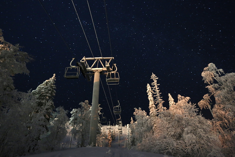 Pyhä Ski Resort snow