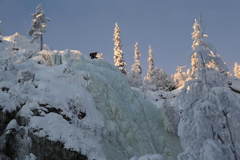 Pyha Ice Climb, Pyhä Ski Resort