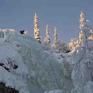 Pyhä Ski Resort Snow: Pyha Ice Climb